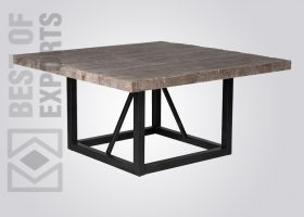 Industrial Square Dining Table