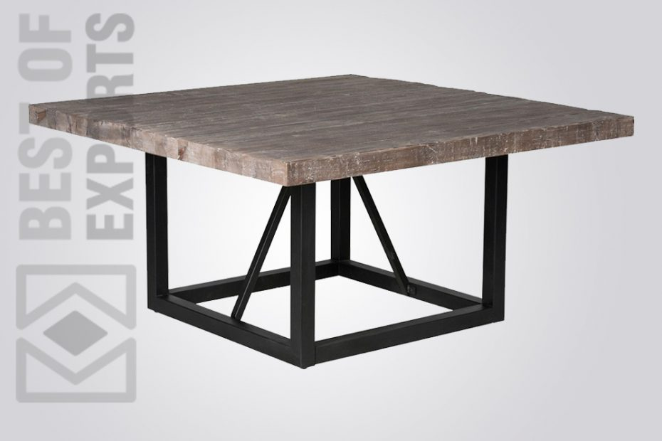 Industrial Square Dining Table Best Of Exports