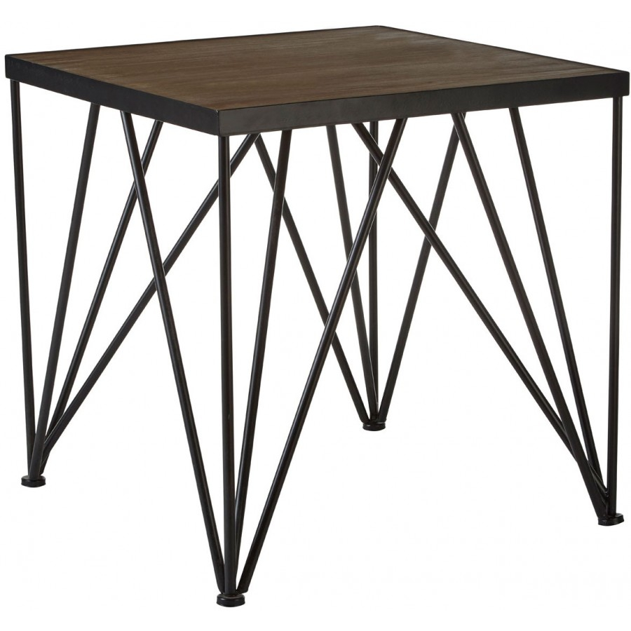 Industrial Square Dining Table Type 2a