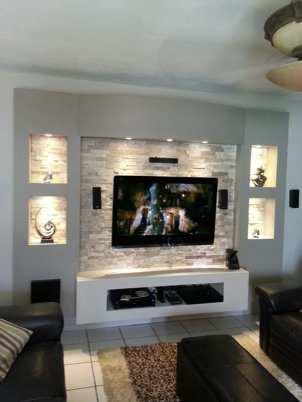 Innovacin Tv Unit My Own Projects Living Room With Fireplace