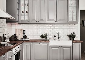 Pinterest Gray Kitchen Cabinets