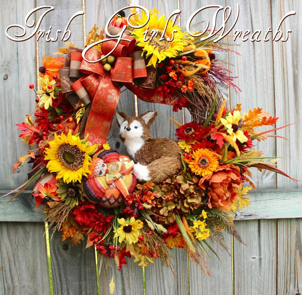 Irish Girls Wreaths Where The Difference Is In The Details Fall