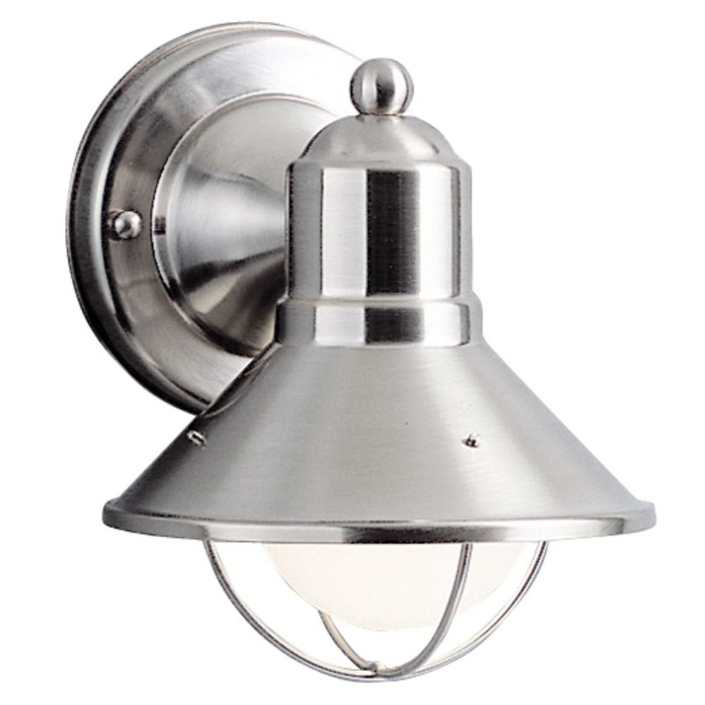 Kichler 7 12 Inch Nautical Outdoor Wall Light With Led Bulb