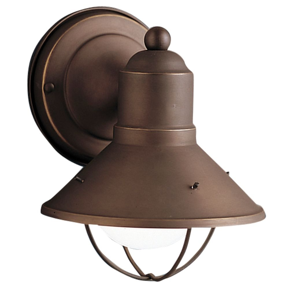 Kichler Nautical Outdoor Wall Light In Bronze Finish 9021oz