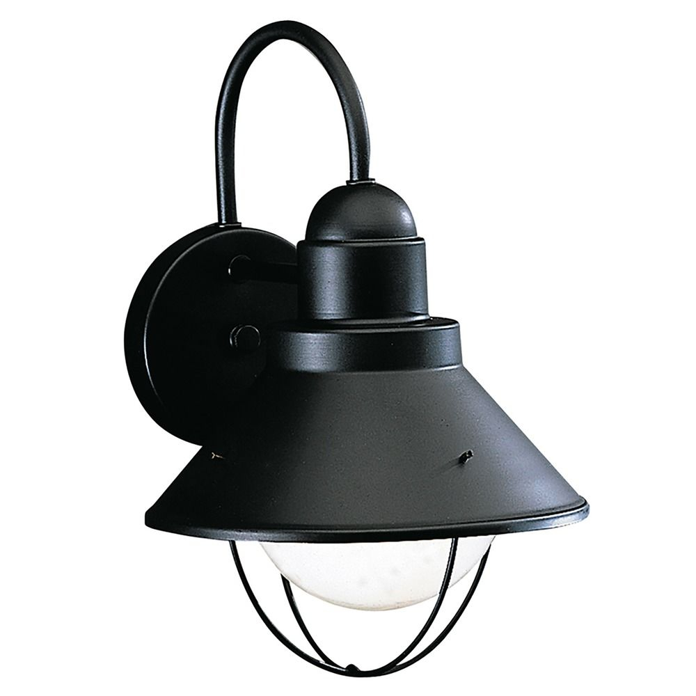 Kichler Outdoor Wall Light In Black Finish 9022bk Destination