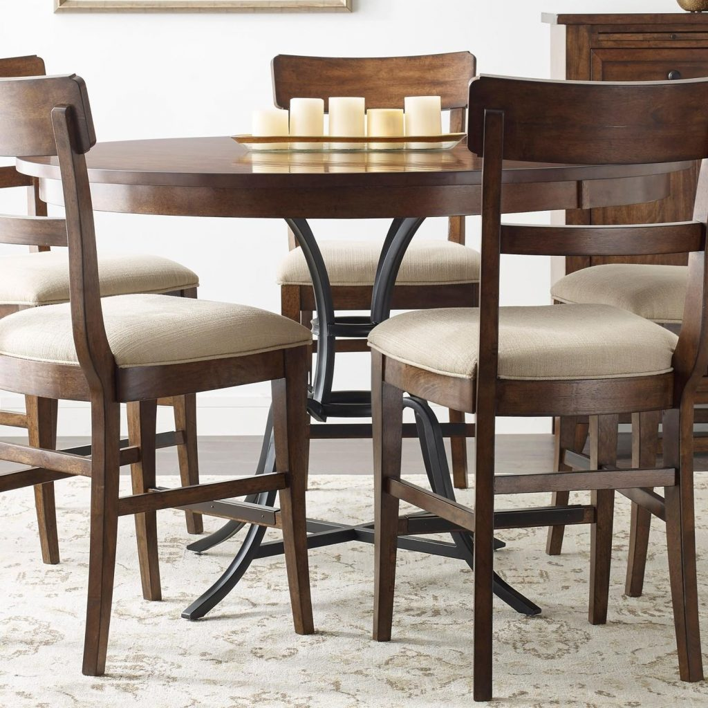 Kincaid Furniture The Nook 54 Round Solid Wood Counter Height Table
