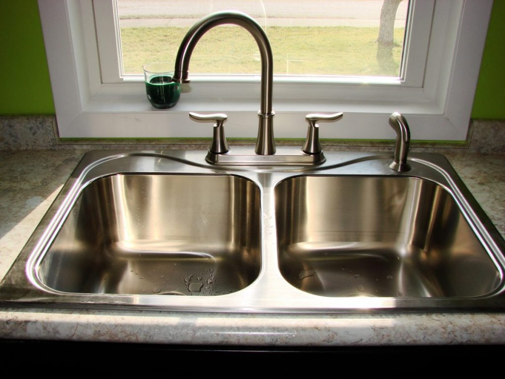 Kitchen 9 Inch Deep Kitchen Sinks Stainless Steel Apron Sink