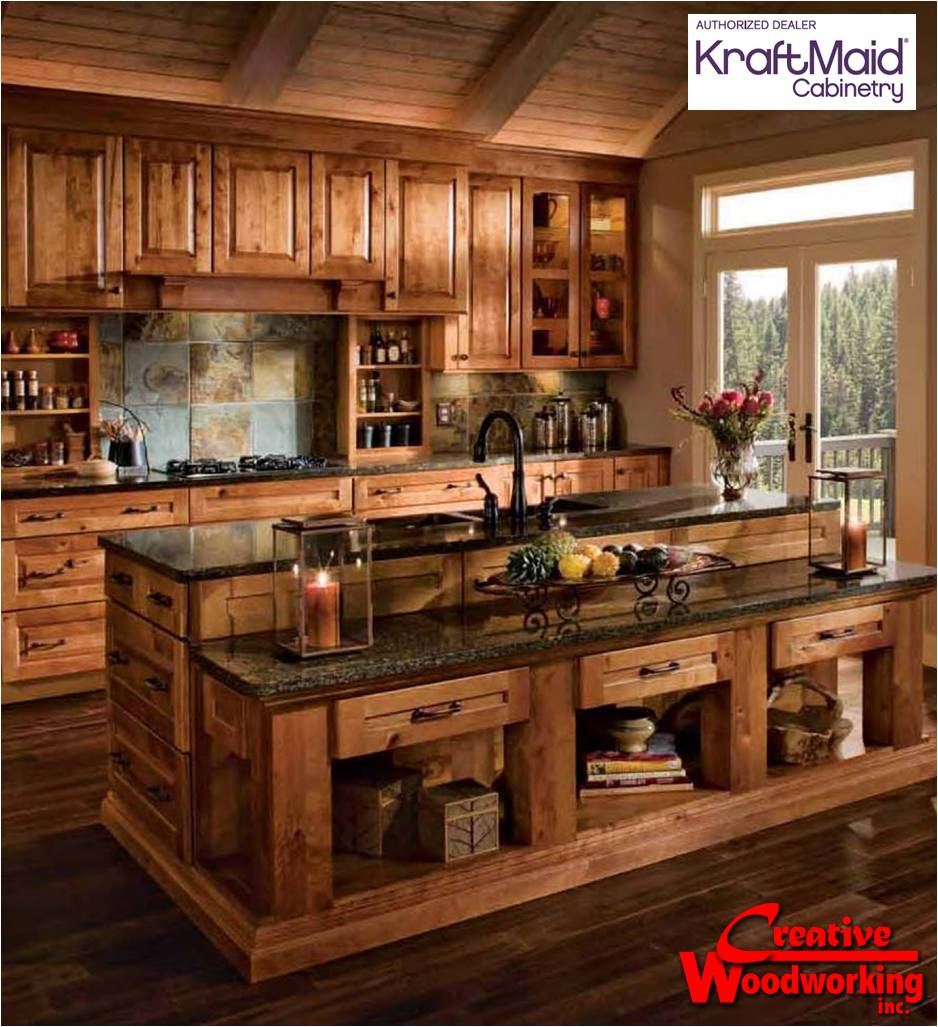 Kitchens Rustic Open Kitchen Design Modern Rustic Small Kitchen