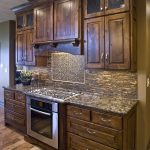 Rustic Alder Wood Kitchen Cabinets