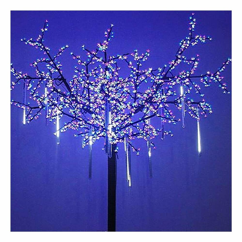 Led Icicle Lights Outdoor String Christmas Shooting Star Salling