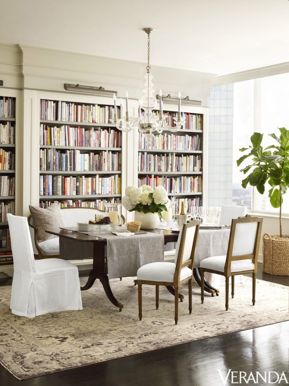 Library Dining Room Combos Moonefield Interiors