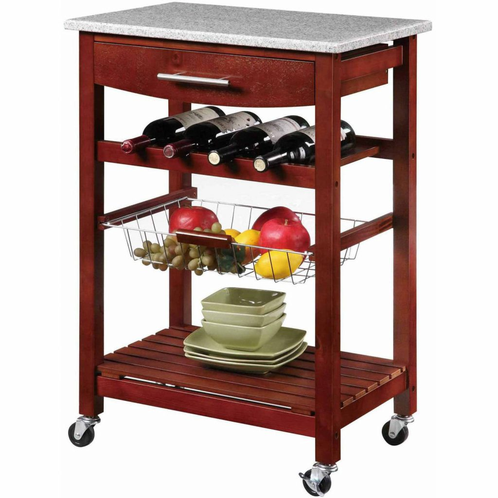 Linon Kitchen Island With Granite Top 338 Inches Tall Multiple