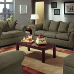 Live Microfiber Modern Sofa Loveseat Set Front Room Ideas
