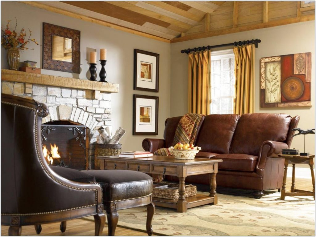 Living Country Living Room Colors