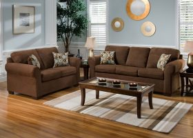 Paint Colors for Living Room with Brown Couch
