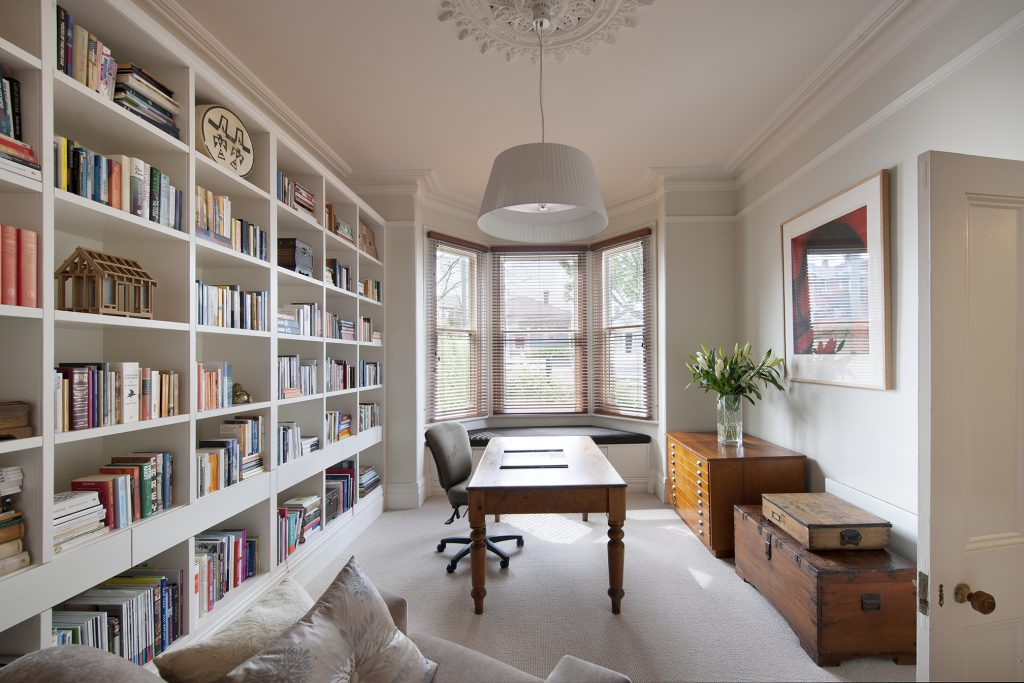 Living Room Dining Room Library Combo Low Budget Interior Design