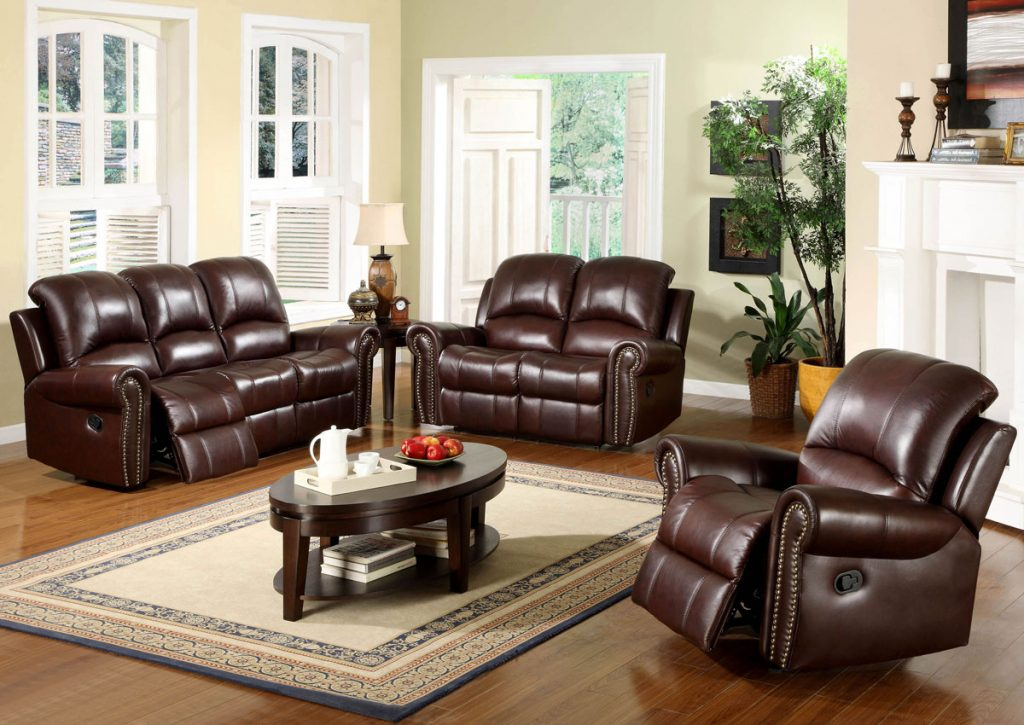 Living Room Ideas With Leather Furniture Best Home Renovation 2019