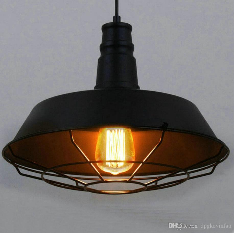 Loft Style D 263646cm Vintage Industrial Pendant Lighting Led Lamp
