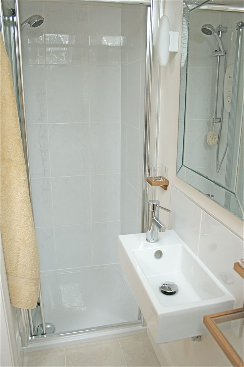 Love The Shower And The Sink Bathroom In 2019 Small Shower