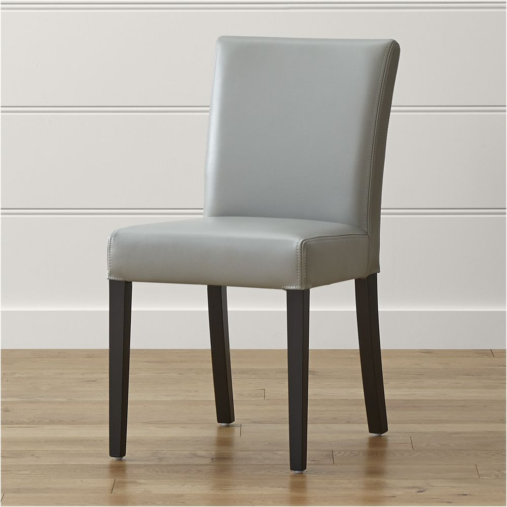 Lowe Pewter Leather Dining Chair Products Pinterest