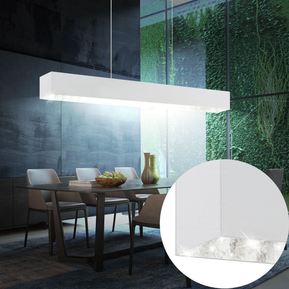 Luxury Led Hanging Pendant Lamp Dining Room Beam Light Fixture