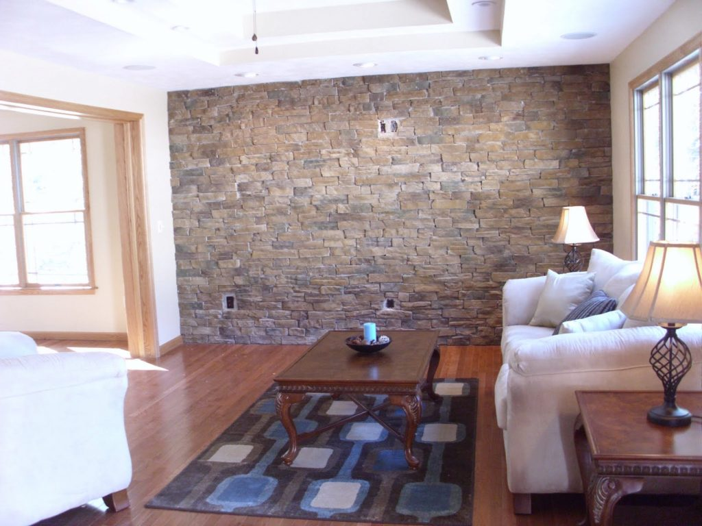 Manificent Design Stone Wall Tiles For Living Room In The Living