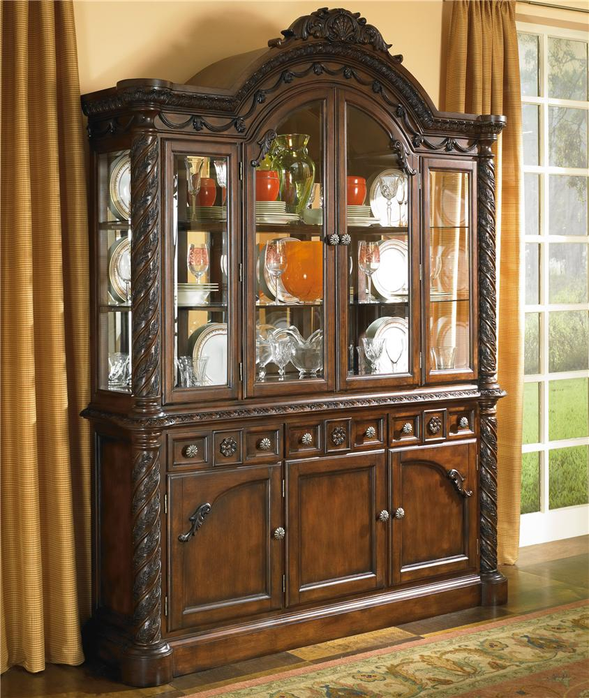 Millennium Jameson China Cabinet With Glass Doors John V Schultz