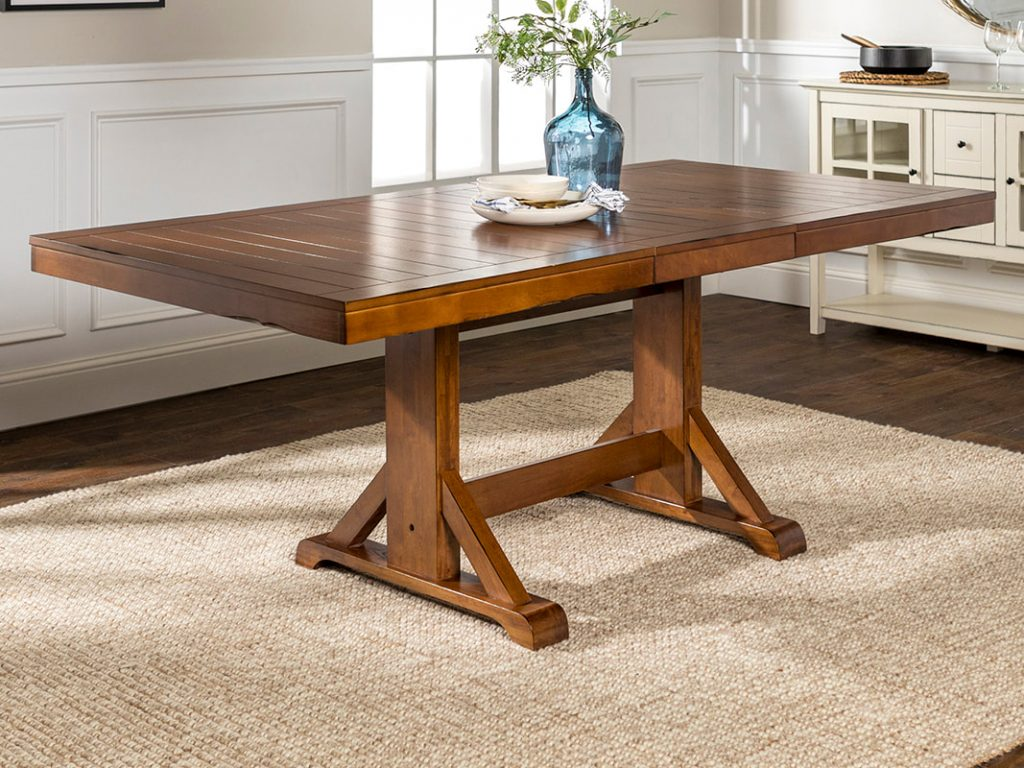 Millwright Extendable Dining Table Walker Edison