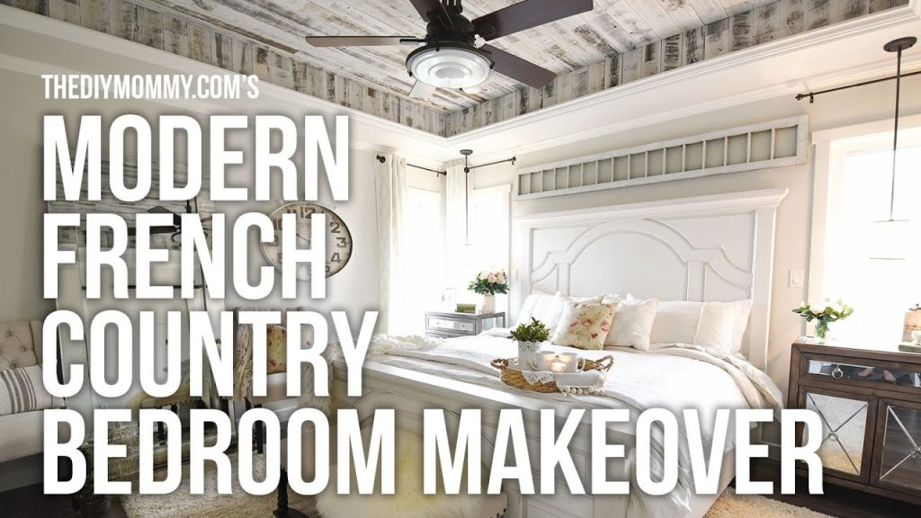 Modern French Country Farmhouse Master Bedroom Makeover Week 6