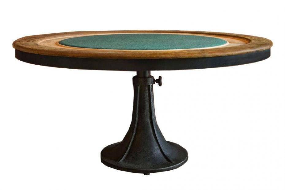 Modern Gaming Tables Rustic Poker Table Eurway