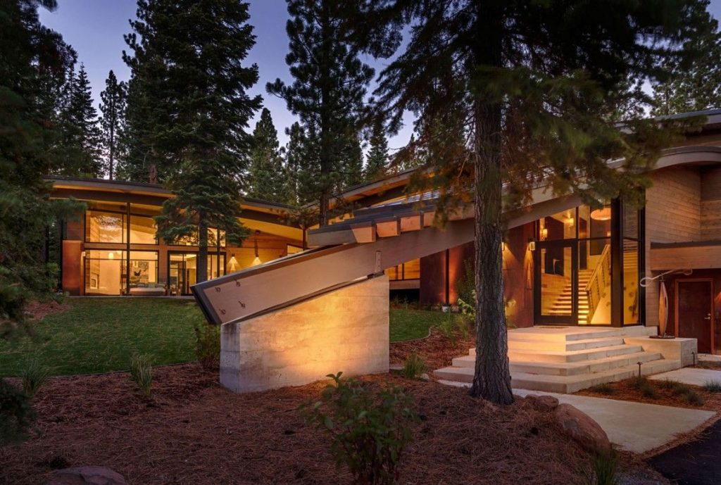 Modern Mountain Home Located In The Martis Camp Development In