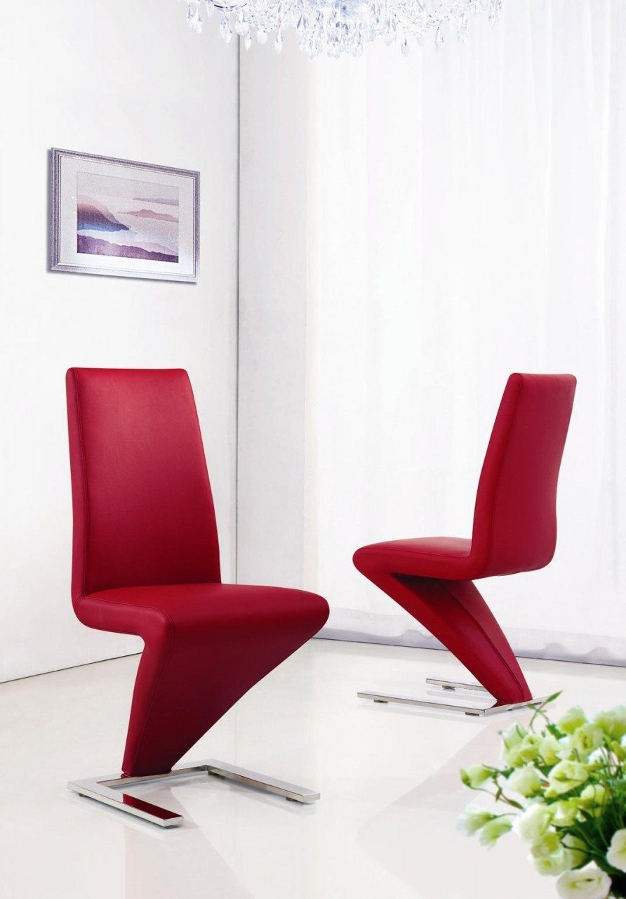 Modern Red Chairs Red Chairs Helpformycreditcom Red