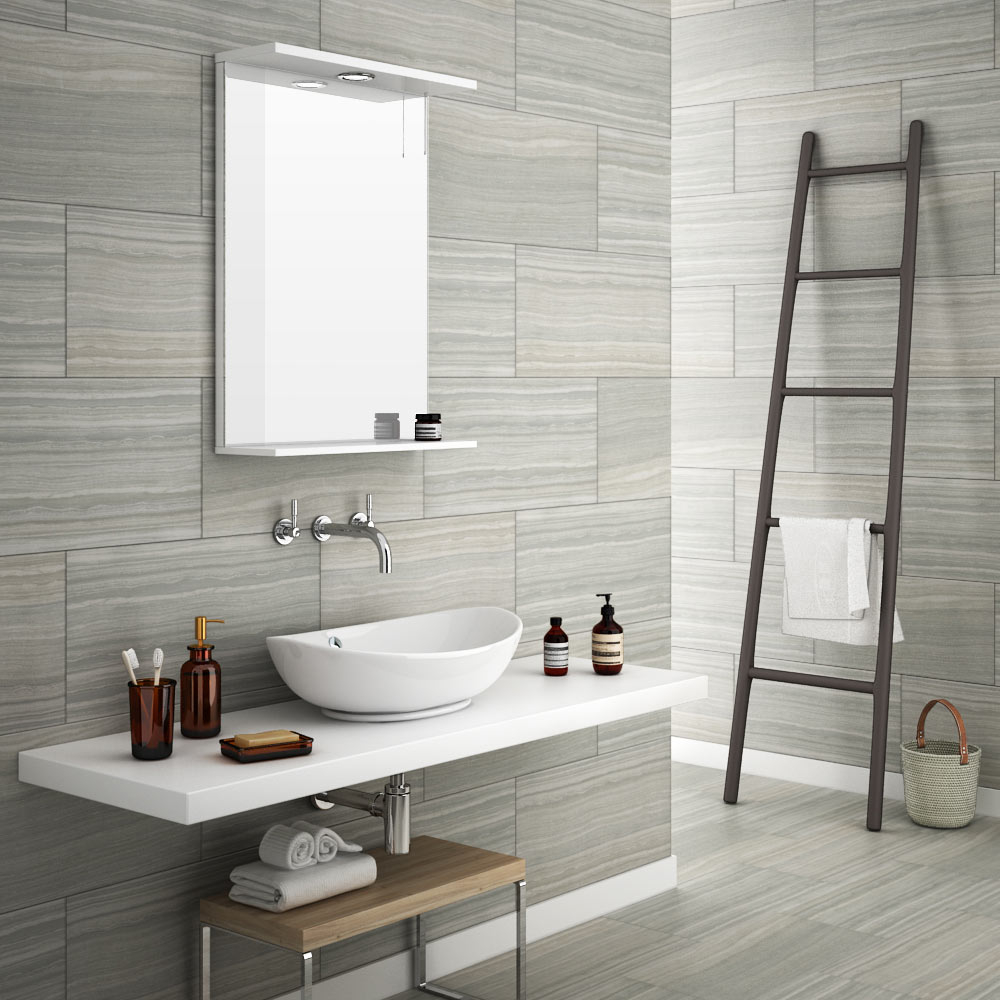 Monza Grey Wood Effect Tile Wall Floor From Victorian Plumbing