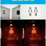 Most Creative And Funny Bathroom Door Signs Used Around The World