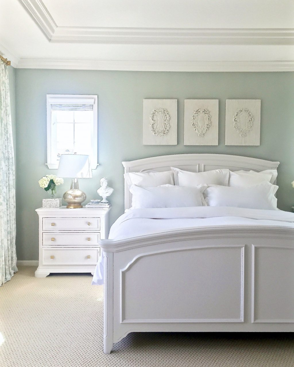 My New Summer White Bedding From Boll Branch Bedroom Ideas