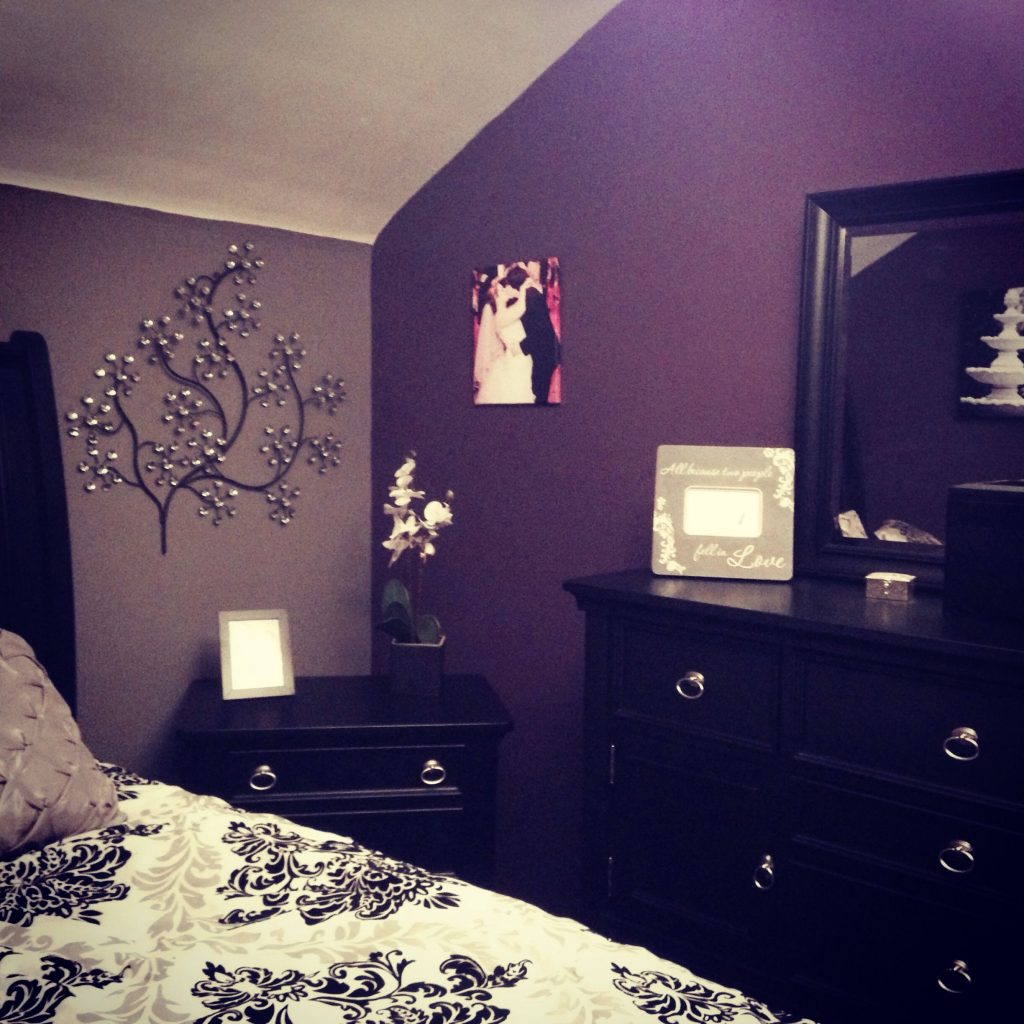 My Purple And Grey Bedroom My Diy Purple Bedroom Design Purple