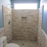 Natural Shower Tile Design Ideas For Bathroom Surripui T Zonaprinta