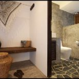 Natural Stone Bathroom Designs Modern Tropical Holiday Villas Design