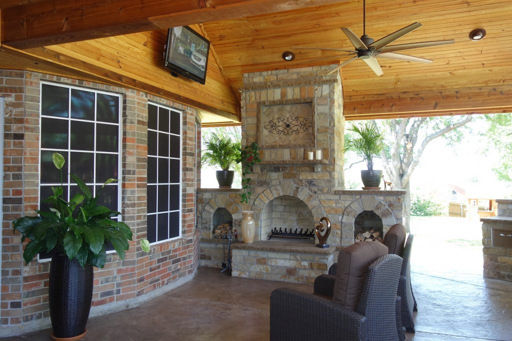 Ne Dallas And Southlake Porches And Covered Patios