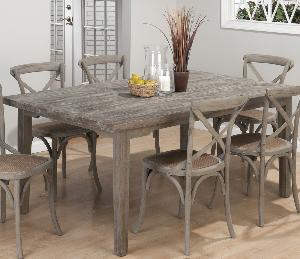 New Gray Dining Table