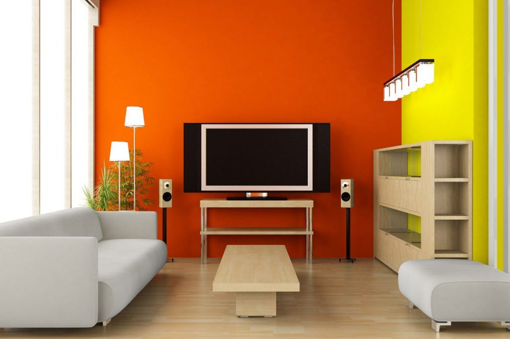 Orange Color Psychology Orange Is A Warm Color Rooms Painted In