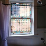 Stained Glass Windows Bathroom