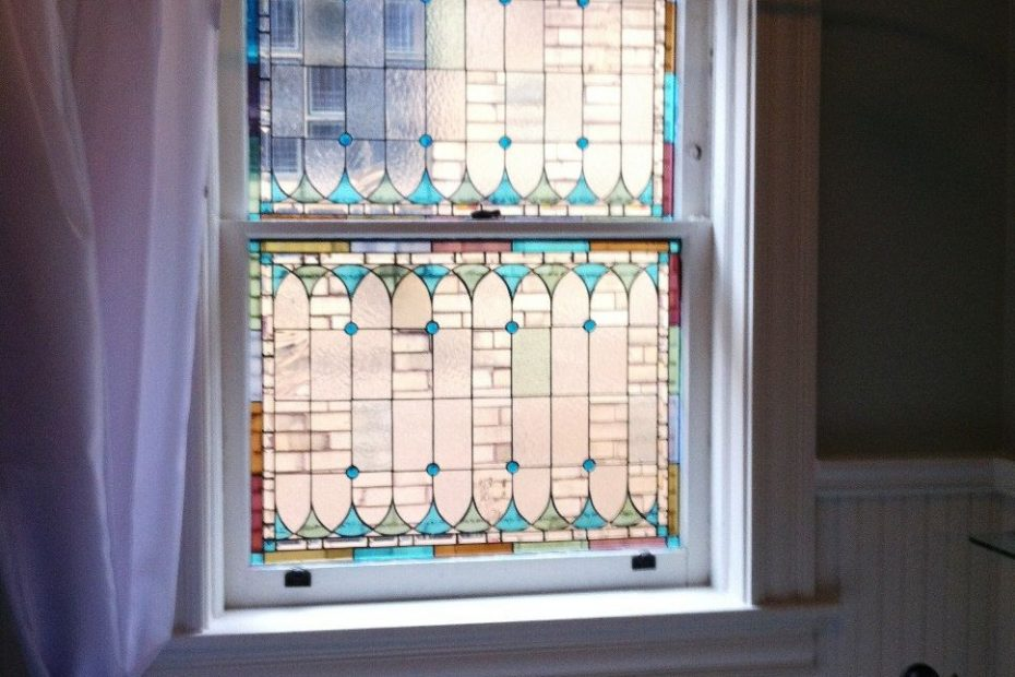 Original Stained Glass Window Panels Custom Designed W 25