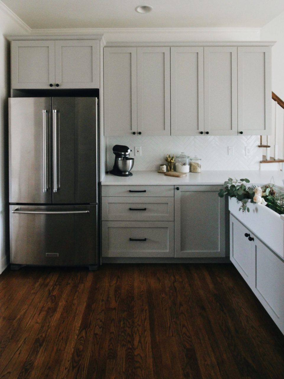 Our Kitchen Tour Feels Like Home Minimalist Kitchen Cabinets