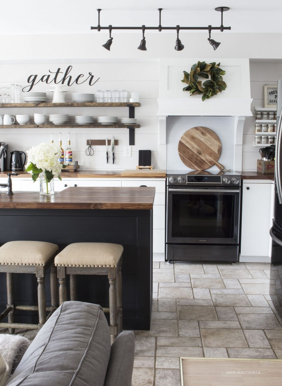 Our Modern Farmhouse Kitchen Makeover Blogger Home Projects We