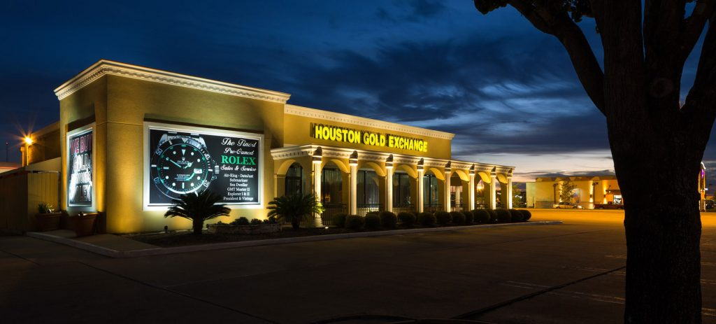Outdoor Commercial Landscape Lighting Houston Katy