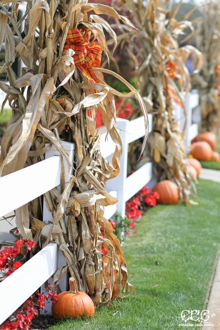 Outdoor Fall Decor Ideas Halloween Ideas Fall Decor Fall Deco