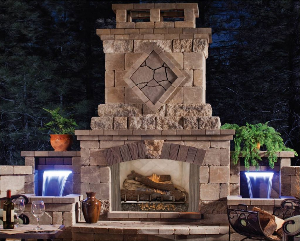 Outdoor Fireplace Kits Design Aidnature Outdoor Fireplace Kits