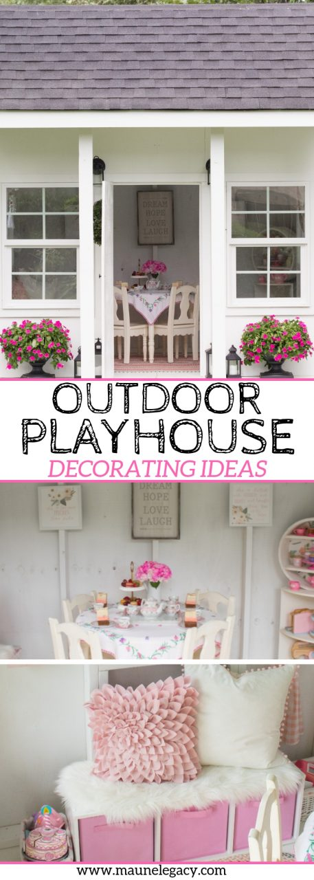 Outdoor Playhouse Decorating Ideas Home Lifestyle Maune Legacy