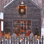 Cabin Outdoor Christmas Decorations
